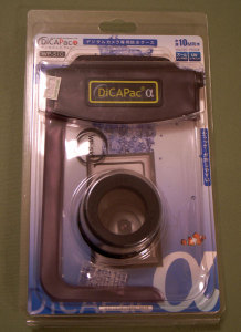 デジタルカメラ専用防水ケースDiCAPacα(ディカパック アルファ)WP510