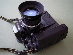 Nikon F3 + MD-4 + Ai Nikkor 28mm F2.8S + L37c + HN-2