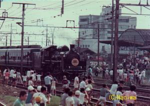 京阪100年号(1976年):Asahi Pentax SV、SMC Takumar 200mm F4、撮影データ・フィルム不明、プリントをフラットベッドスキャナでスキャン