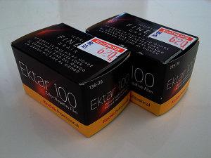Kodak Professional Ektar 100 Films