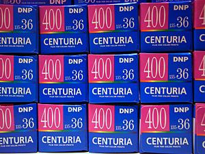 DNPセンチュリア400フィルム
