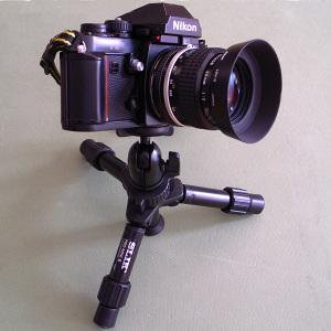SLIK PRO-MINI III Tripod,Nikon F3 and Ai Nikkor 35mm F2S