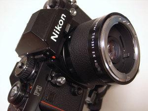 Nikon Teleconveter TC-201S with Nikon F3