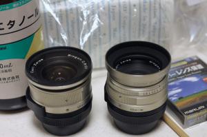 Carl Zeiss Biogon T* 28mm F2.8 and Biogon T* 21mm F2.8