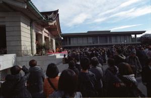 獅子舞(東京国立博物館):Nikon F100、Ai Nikkor 20mm F2.8S(AI Nikkor 20mm f/2.8S)、F11AE、L37C、Kodak PORTRA400、Nikon SUPER COOLSCAN 5000ED、ICEありROCなしGEMなし