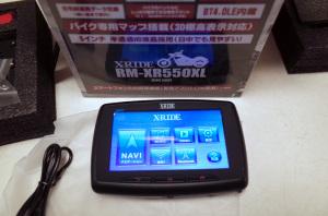 R.W.C バイク用ナビRM-XR550XL