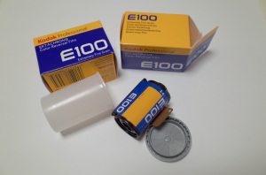 Kodak EKTACHROME E100(コダック エクタクロームE100 135-36枚)撮
