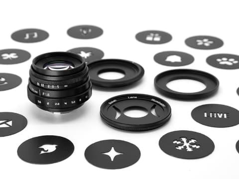 GIZMON Bokeh Lens Illuminator(35mm F1.6 with filter)