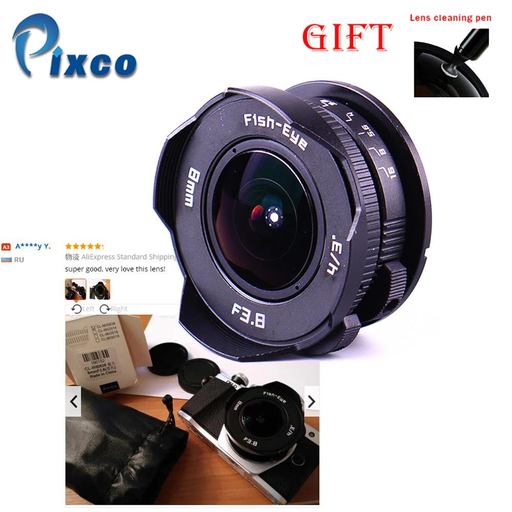 中国製Cマウント魚眼レンズ8mm F3.8