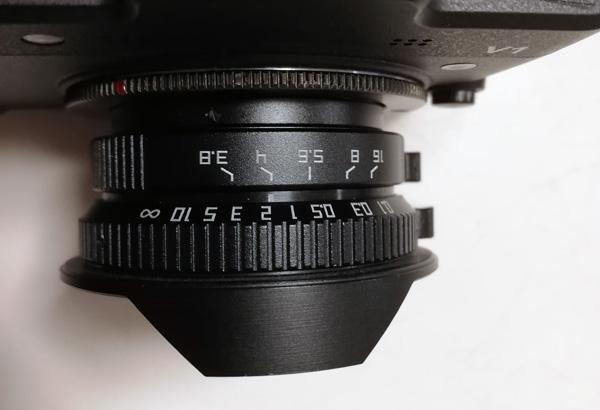 8mm F3.8 CCTV Wide Angle Fisheye Lens C-mount