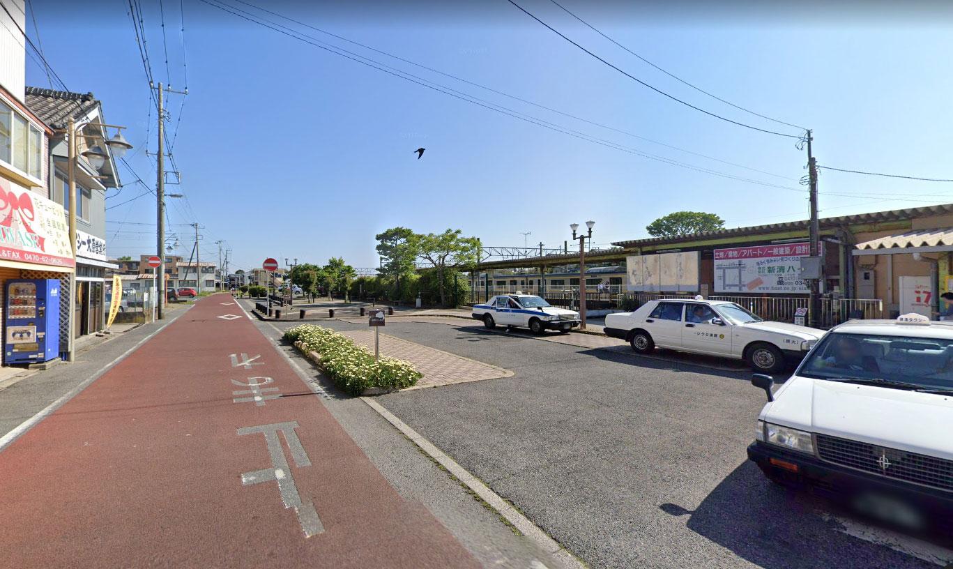 【画像6】大原駅タクシー乗り場付近(Googleストリートビュー)