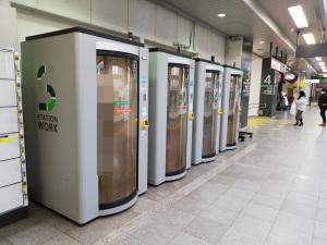 駅ナカ×シェアオフィス - STATION WORK(ステーションワーク)(JR池袋駅):Huawei P20 lite(ANE-LX2J)、3.81mm(35mm版26mm相当)、F2.2開放、1/33.3秒、ISO160、プログラムAE、AWB