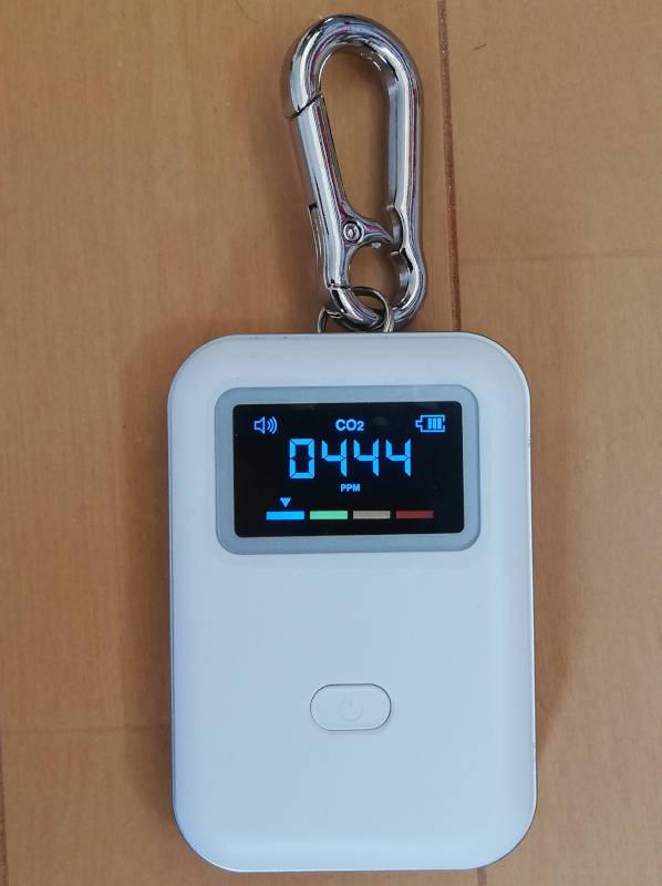 東亜産業 TOA-CO2MG-003-MB [モバイルCO2マネージャー (Mobile CO2Manager)]