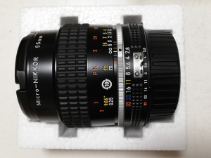 AI Micro-Nikkor 55mm f/2.8S(Serial No.814488)