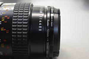 Ai Micro-Nikkor 55mm f/2.8S(Serial No.814488)とKenko ステップアップリング52mm→55mm、ステップダウンリング55mm→52mm:Nikon D300S、AF-S DX NIKKOR 18-55mm f/3.5-5.6G VR(55mm、35mm判換算82.5mm相当)、F5.6開放、1/125秒、ISO-AUTO(2800)、AWB、ピクチャーコントロール:ポートレート、マルチパターン測光、高感度ノイズ低減:標準、手持ち撮影